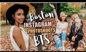 SO Many Instagram Photoshoots & Girl's Trip in Boston 🍁