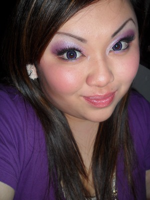 A Barbie Look i did from Michelle Phan And/Or Promise Phan