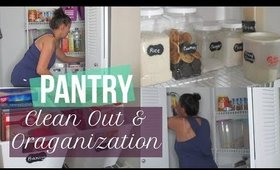 Pantry Clean Out & Organization | Clean With Me | Power Hour | Stay At Home Mom