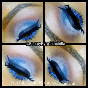 Love this look for dramatic eyes! Don't be afraid to use color :)