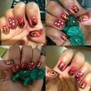 Mehndhi nails