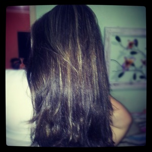 After hydration and make the blond... (((=