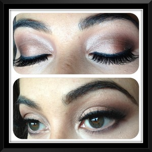 Soft smokey eye for a bridal shoot today. Can't wait to show you guys the actual pictures 😊