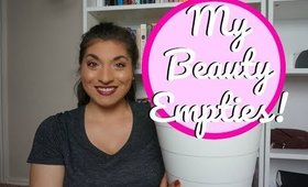 My Beauty Empties| Let's Talk About My Trash