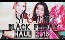 Black Friday Haul 2015 + GIVEAWAY