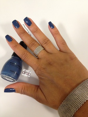 "LOVIN' this pretty little blue from Sinful Colors called ""Rain Storm"". Picked it up at Walgreens for a mere $1.99."