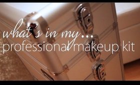 What's in my Professional Makeup Artist Kit!!