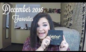 December 2016 Beauty Favorites