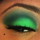 Green Matte Eyes