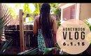 HONEYMOON VLOG: 6.1.15 ● Meeting Our Roommate & Making A Rap Video? ☮