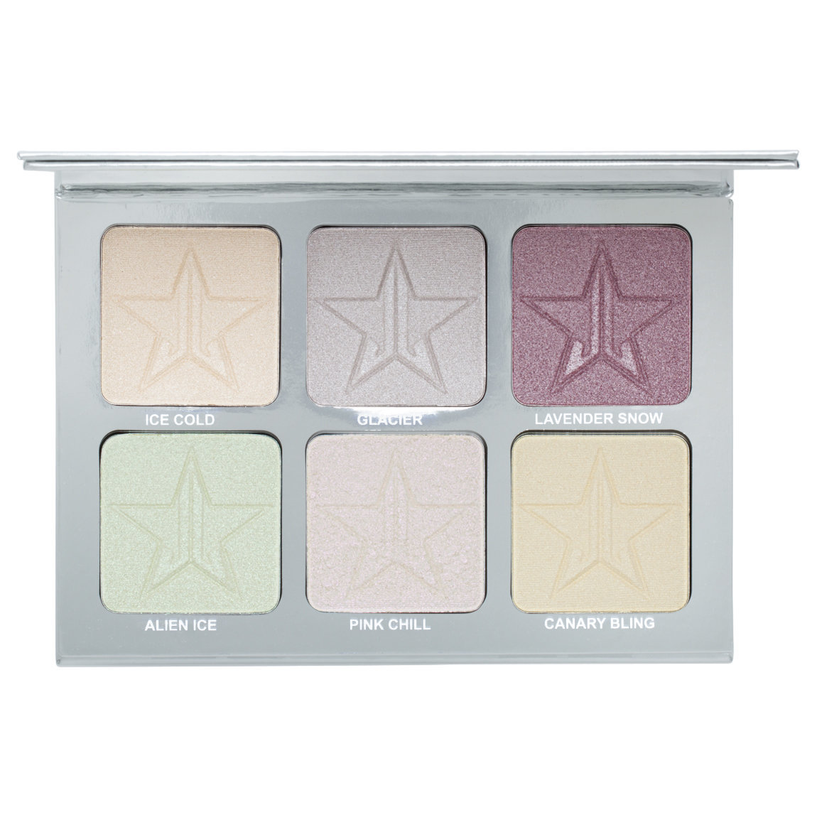 Jeffree Star Cosmetics Skin Frost Pro Palette Platinum Ice alternative view 1 - product swatch.