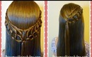 Feather Chain Braid Hairstyles, Hair4myprincess