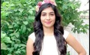 DIY Flower Headband for Summer with Real Flowers