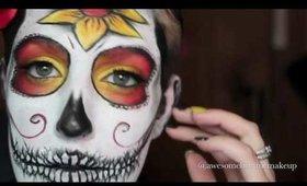 1 minute Sugar Skull
