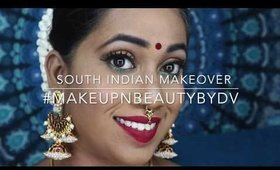 South Indian Traditional Makeup