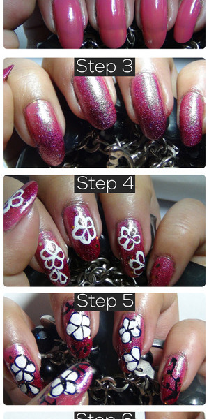 Most of us girls like to sport easy to do floral designs on the nails. When the topic of hand painting comes, floral patterns are some of the most common designs that you will see on nails. Floral designs are not difficult to draw and can be sported everyday as well as during special occasions. So let us see how we can draw a sparkling floral design! Read More:http://www.stylecraze.com/articles/amazing-hand-painted-nail-art-tutorial-with-detailed-steps/