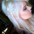 White wonderland fairy hair
