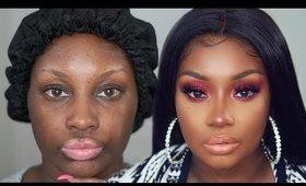 Holiday Makeup Transformation (2019) | Makeupd0ll