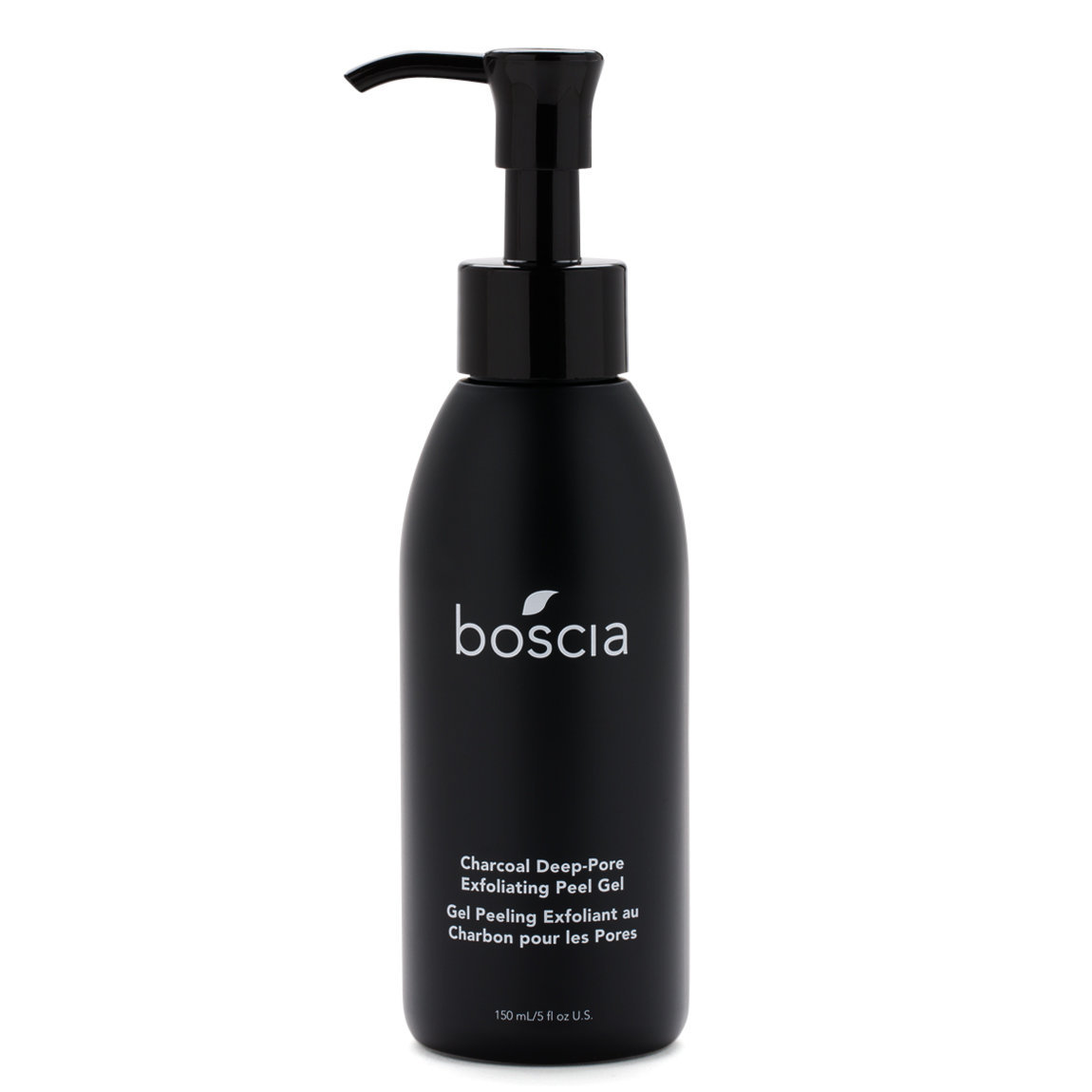 boscia Charcoal Deep-Pore Exfoliating Peel Gel product swatch.