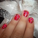 Summer Flower Nails!!