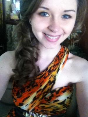 My prom makeup :D