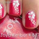 Hawaiian Nails with Zoya Kimber - Video Tutorial