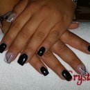 Balck Nails/Nails/Nail Art