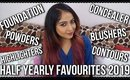 HALF YEARLY FAVOURITES 2019   Foundations, Concealers, Blushes, Eyeliners   Stacey Castanha