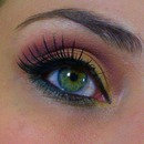 Violet and Gold eyes