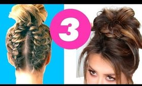 3★ Cutest DIY MESSY BUN Hairstyles for THIS FALL ★ Girls Hairstyles