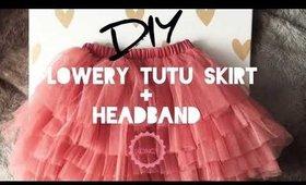 How to : custom tutu skirt and headband