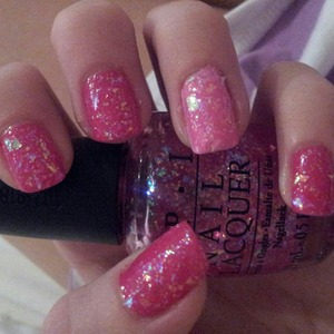 Love pink glitter!!