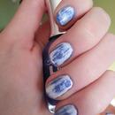 Acid washed nails