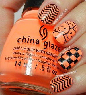 For full Deets: http://www.letthemhavepolish.com/2013/09/31dc2013-day-2-orange-you-sun-of-peach.html