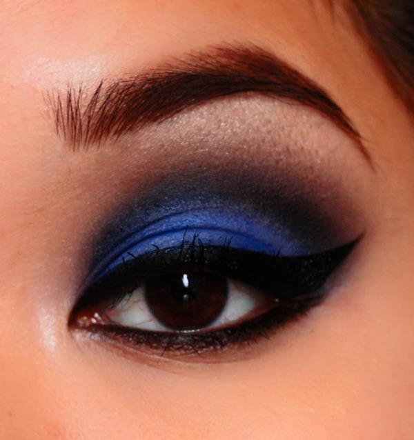 Dark Blue Smokey Eyes | Mary B.'s (marybenitomua) Photo ...  Dark Blue Smoke...