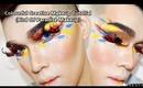 Creative Colourful Makeup Tutorial (Bird Of Paradise Makeup)