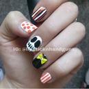 Halloween 2013 Nails