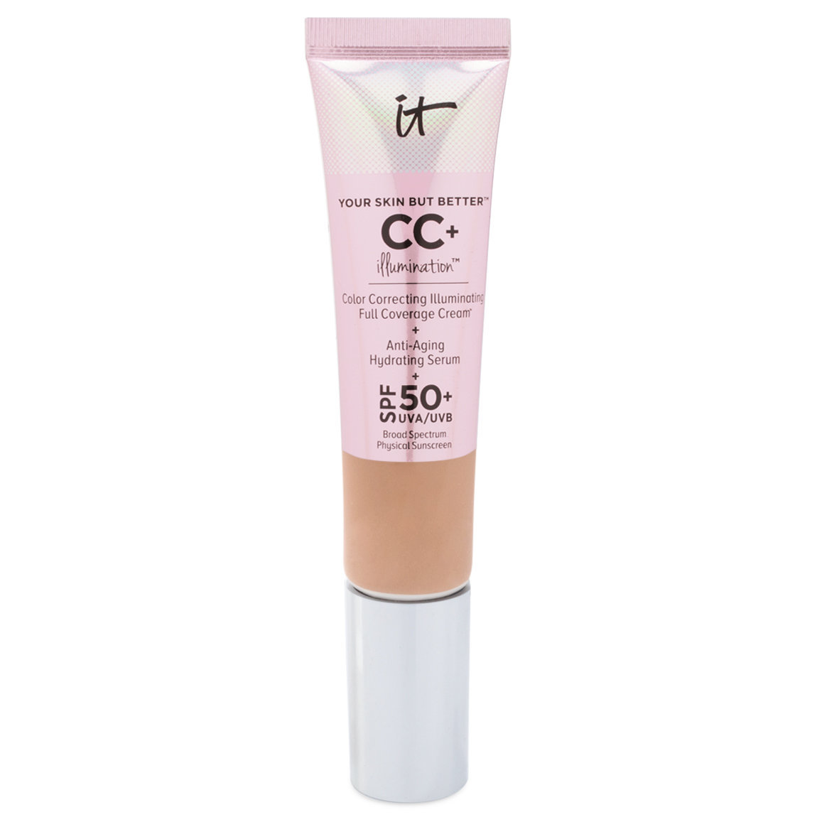IT Cosmetics  Your Skin But Better CC+ Illumination with SPF 50+ Tan