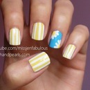 Cute Daisy Nail Art