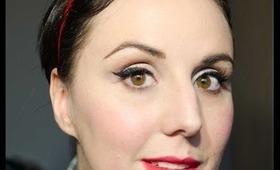 Makijaż w stylu pin-up girl