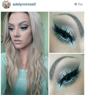 A look I saw on Pinterest and decided to duplicate 😊 let me know what you think!
