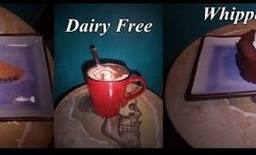 Dairy free! FAST & CHEAP! whipped cream!