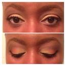 Summer Sunset inspired makeup