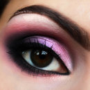 Pink And Violet In Harmony