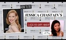 HOW TO: Jessica Chastain Makeup Oscars