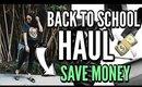 BACK TO SCHOOL SHOPPING + Clothing HAUL 2017 (Earny)