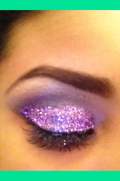 Loose Purple Glitter Eyeshadow Coco S S Cocoshaay Photo
