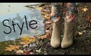 Styling Fall Floral Pants & DailyLook Booties (Collab w/ Carahamelie03)