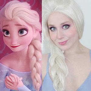 https://youtu.be/UKnTJh4Ife4 Elsa Frozen Pastel Purple Summer Makeup Tutorial Disney Cosplay 2020 | Lillee Jean