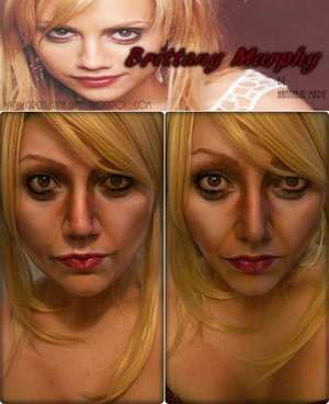 Decided to transform into Brittany Murphy.
